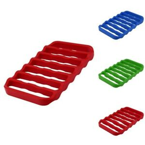 1pcs Silicone Grill Oven Insulation Pad Drain Pad For Cooking Steam 15*23*2cm
