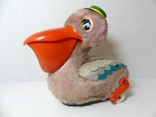 Vintage 1950's Pelican and Fish Battery Operated by Yonezawa Co. in Japan