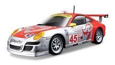 BBURAGO 18-28002 PORSCHE 911 GT3 RSR #45 FLYING LIZARD 1/24 RED / SILVER