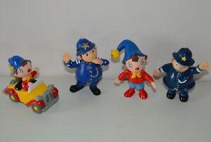 Lot de 3 figurines personnages OUI OUI Dessins animés BBC 1994 PAPO 2004 +offert