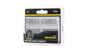 Chain Link Fence WOODLAND SCENICS N Scale Accents A2993
