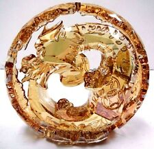 CHINESE ZODIAC DRAGON LARGE GOLDEN SHINE CRYSTAL 2015 SWAROVSKI #5063126