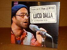 LUCIO DALLA LIVE@RTSI CD NUOVO SIGILLATO!!!