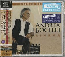 ANDREA BOCELLI-CINEMA-JAPAN SHM-CD+DVD Ltd/Ed I19