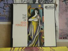 THE ART OF ROSA PONSELLE -2 LP CBL-100