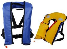 Automatic/Manuel Auto Inflate Inflatable PFD Survival Buoyancy Life Jacket Vest