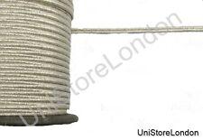 Braid Silver Mylar Russia 5mm Rank Lace Trim by Meter R622