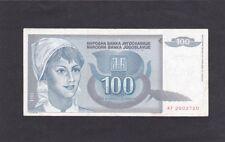Ex Jugoslavia banconota del 1992