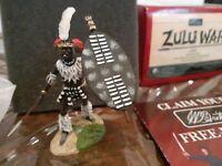 W BRITAINS ZULU WAR 20001 OSPREY ART SERIES UMBONAMBI REGIMENT ADVANCING