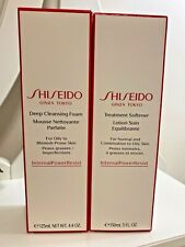 Lot of Brand New Deep Cleansing Foam and Treatment Softener by Shiseido