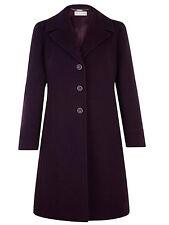 Petite Outdoor Knee Length Button Coats & Jackets for Women