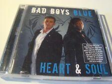 RAR CD. BAD BOYS BLUE. HEART & SOUL. 17 TRACKS. 2008