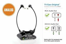TV EARS 5.0 ANALOG WIRELESS HEADPHONES HEADSET SYSTEM