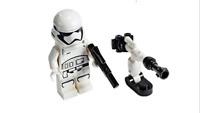 New Lego Star Wars Storm Trooper Minifigure & Blaster Mini Set from Advent Set