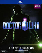 NEW!!! Doctor Who: The Complete Sixth Series (Blu-ray Disc, 2014, 4-Disc Set)