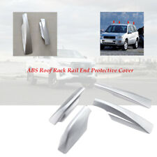 4PCS ABS Roof Rack Rail End Protective Shell Fit For TOYOTA RAV4 High quality
