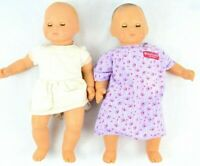 American Girl Pleasant Company Bitty Baby Doll Lot 2 Blonde & Brunette FLAWS
