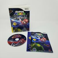 Super Mario Galaxy Nintendo Wii Complete with Manual Disc Is Good