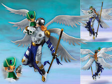 G.E.M Digital Monster Digimon Adventure Angemon & Takaishi Takeru Figurine