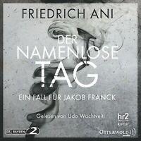 UDO WACHTVEITL - FRIEDRICH ANI: DER NAMENLOSE TAG 5 CD NEW