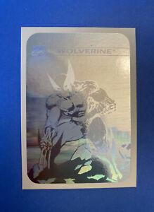 1990 IMPEL MARVEL UNIVERSE SERIES 1 Wolverine Hologram MH4Holo