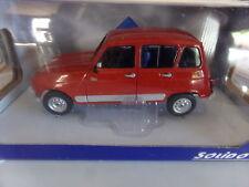 voiture miniature 1/18  SOLIDO  RENAULT 4 GTL CLAN DE 89