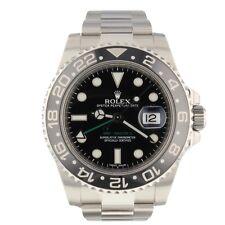 Rolex GMT Master II Steel Automatic 40 mm Black Watch 116710 LN Mint