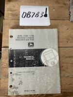John Deere 300D 310D 315D Backhoe Loader Powertrain Service Repair Manual TM1496