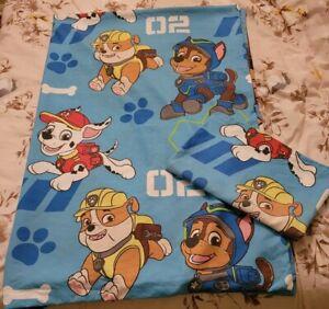 Kids Paw Patrol bedding