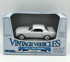 Ertl 1/43 Vintage Vehicles 1964-1/2 White Ford Mustang #2820
