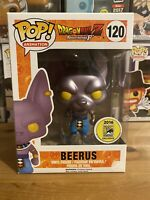 Dragonball Z Metallic Beerus Comic Con 2016 Exclusive Funko Pop Vinyl SDCC