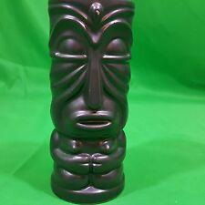 "Dragon Island Otagiri Black Droopy Tiki Mug OMC Japan 6"" Hawaiian Polynesian NY"