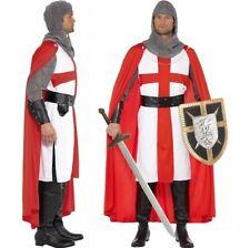 Costume cavaliere medievale ST.GEORGE INGHILTERRA M 96.5-102cm Da Smiffys