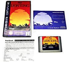 RARE LION KING OZISOFT SILVER SEGA MEGA DRIVE GAME SUIT COLLECTOR GENESIS DISNEY