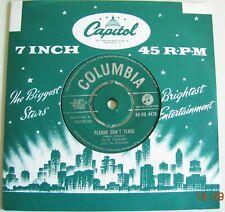 "CLIFF RICHARD & SHADOWS  ""Please don't tease/Where's my heart:"" 1960 UK COLUMBIA"