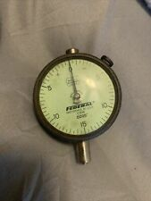 Federal C5m Dial Indicator Gauge 0005 Miracle Movement