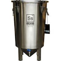 7 gal | Brew Bucket Fermenter Stainless Steel Ss Brew Tech FREE Hops & Star San