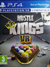 HUSTLE KINGS VR (BILLAR). JUEGO PS4.COMPATIBLE CON PLAYSTATION VR.NUEVO,PRECINT.