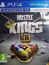 HUSTLE KINGS VR. JUEGO PARA PS4.COMPATIBLE CON PLAYSTATION VR. NUEVO,PRECINTADO.