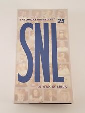 Saturday Night Live - 25 Years of Laughs (VHS, 1999, 2-Tape Set, 25th Anniversar