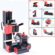 HIGA CNC Mini Classic Lathe Tool 8 in 1 Milling Machine Sawing Driller Grinder