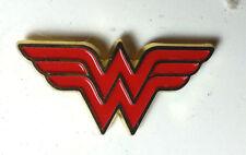 "Wonder Woman/Justice League Logo DC 1"" Metal Pin- Mailed from USA (JLAPI-WW)"