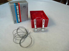 Suntour Cyclone Shifters Clamp On Down Tube W/ Cables Vintage Bike NOS