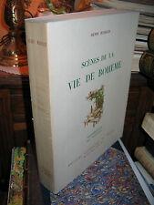 MURGER Henri/ SCENES DE LA VIE DE BOHEME/ ILLUSTR HAUTOT/ papier de rives