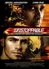 Unstoppable movie poster - Chris Pine, Denzel Washington  - 13.5 x 20 inches