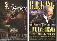 Shuggie Otis BB King  NYC  Concert Handbill Mini Poster Set