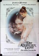 Kameliendame Filmposter A1 Dame aux camélias Isabelle Huppert Gian Maria Volonte