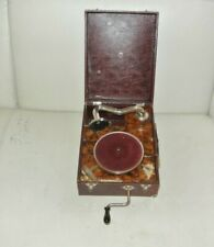 Antique Turntable Gramophone Child Toy 1930 The LUTIN N° 1