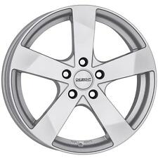 "17"" DEZENT TD SILVER ALLOY WHEELS ONLY BRAND NEW 5x108 RIMS"