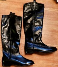 Equestrian Boots Black Leather ASOS Tall Misses size 8.5 M New